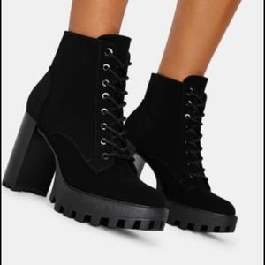 These are brand new dollskill lace up boots.